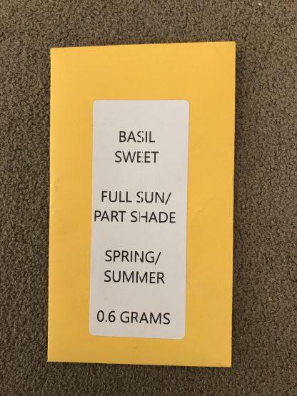 Basil Sweet